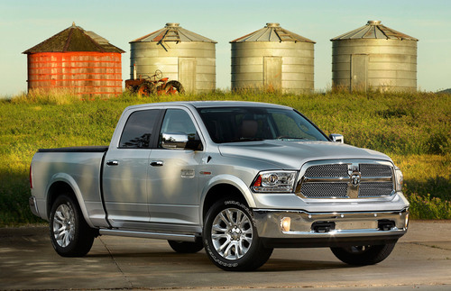 2014 Ram 1500 EcoDiesel.  (PRNewsFoto/Chrysler Group LLC)