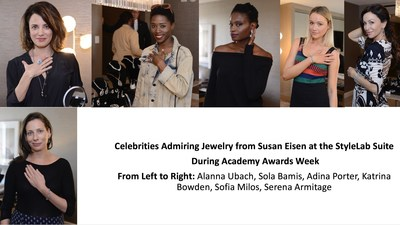 GETTING RED CARPET READY FOR THE OSCARS: Celebrities and their Stylists Previewed Jewelry from