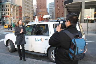 The LiveU Xtender integrated antenna solution increases network reception, providing additional resiliency for live video transmission in extreme scenarios such as heavily crowded areas.
