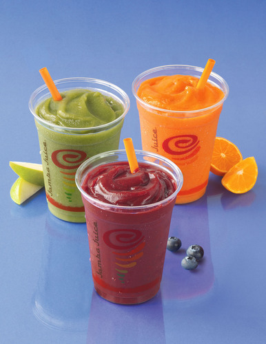 Jamba Juice Highlights Their Better-For-You Beverage Menu of 22 Drinks that are 250 Calories or
