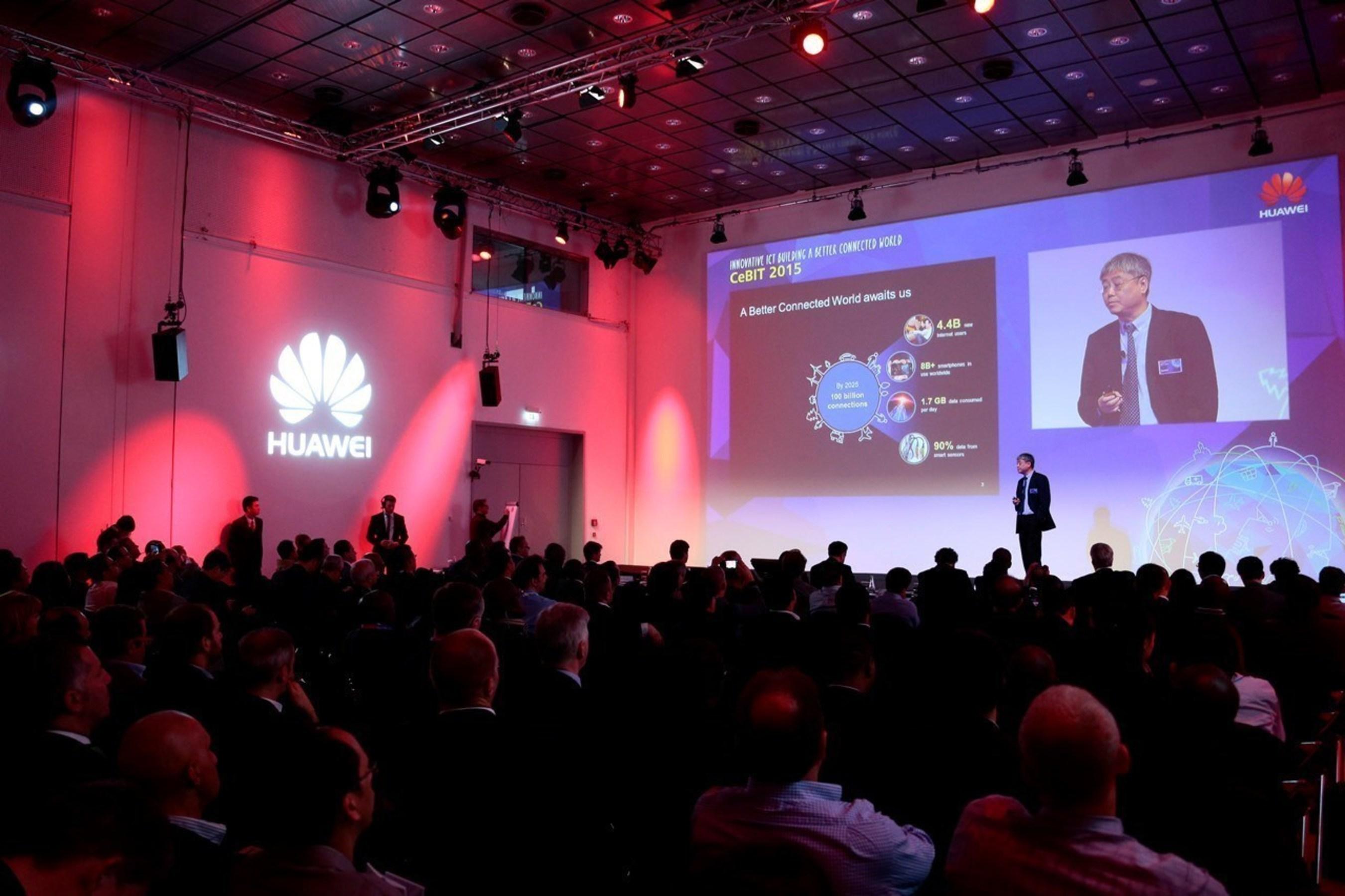 Huawei veranstaltet sein CIO Forum auf der CeBIT 2015: Business-getriebene innovative IKT, Aufbau