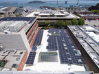 Vista Solar Helps DPR Construction Pursue Net Zero Energy Consumption at Its San Francisco Office.  (PRNewsFoto/Vista Solar)