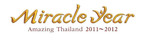 "Logo of ""Miracle Year of Amazing Thailand"".  (PRNewsFoto/Tourism Authority of Thailand)"