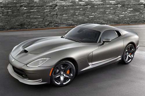 2014 SRT Viper GTS Anodized Carbon Special Edition Package.  (PRNewsFoto/Chrysler Group LLC)