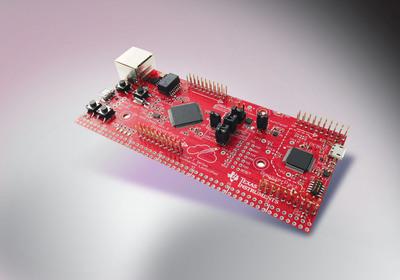 TI's Tiva C Series Connected LaunchPad.  (PRNewsFoto/Texas Instruments)