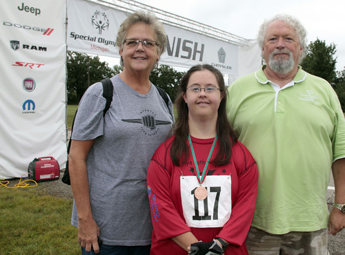 Special Olympics Michigan Cyclists Pedal for Gold at Chrysler Group's Chelsea Proving Grounds