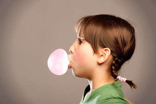 Chew gum with xylitol to help reduce tooth decay.  (PRNewsFoto/Manhattan Dental Arts)
