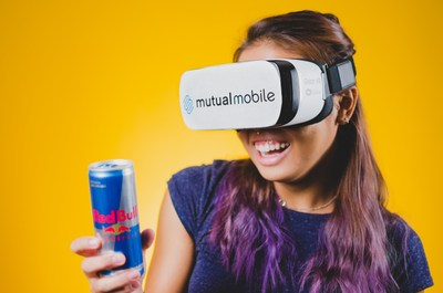 Mutual Mobile employee excited about VR commerce.