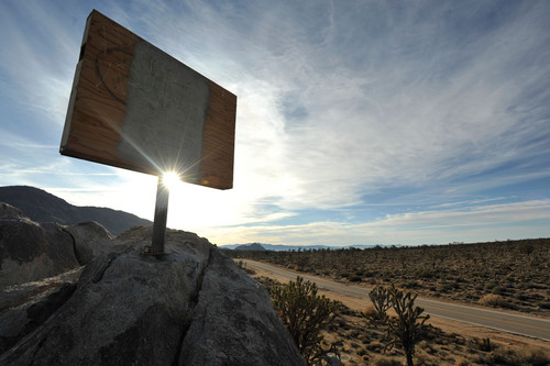 11 /11 at 11 AM: Mojave Cross Restored to Its Former Glory during Public Veterans Day Ceremony.  (PRNewsFoto/Liberty Institute)