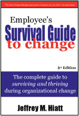 Employee's Survival Guide to Change Book Cover.  (PRNewsFoto/Prosci)