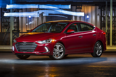 ALL-NEW 2017 HYUNDAI ELANTRA PRICED AT $100 LESS THAN THE AWARD-WINNING MODEL IT REPLACES - STARTS AT $17,150