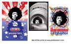 3D Enhanced Jimi Hendrix Posters (PRNewsFoto/Tom Zotos)