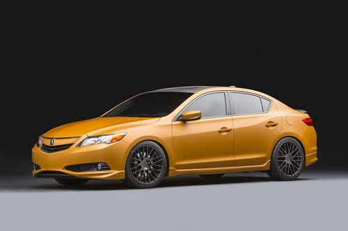 Acura Debuts Custom Performance Sedans at SEMA. (PRNewsFoto/American Honda Motor Co., Inc.) ...
