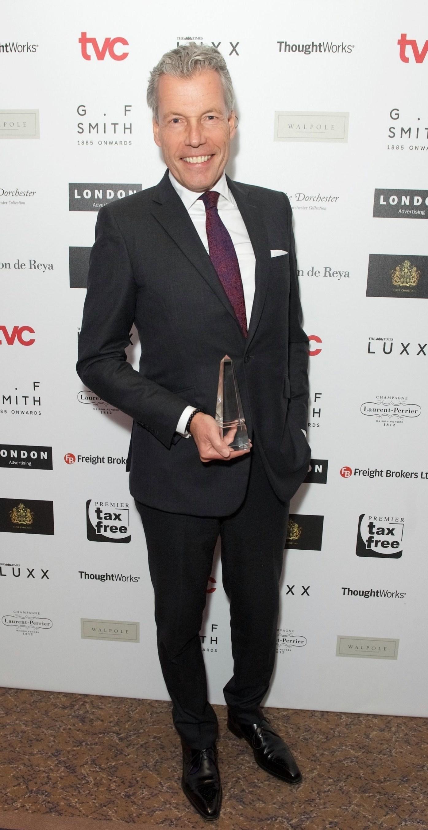 Rolls-Royce Motor Cars Awarded Prestigious British Luxury Award (PRNewsFoto/Rolls-Royce Motor Cars)