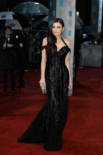 Rebecca Wang at the BAFTA Awards 2013. (PRNewsFoto/RWEL)