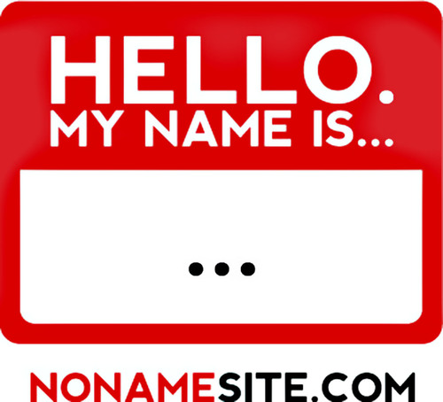 'Hello, My Name Is...'