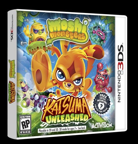 Mind Candy Partners With Activision Publishing, Inc. on New Moshi Monsters™ Video Game Katsuma