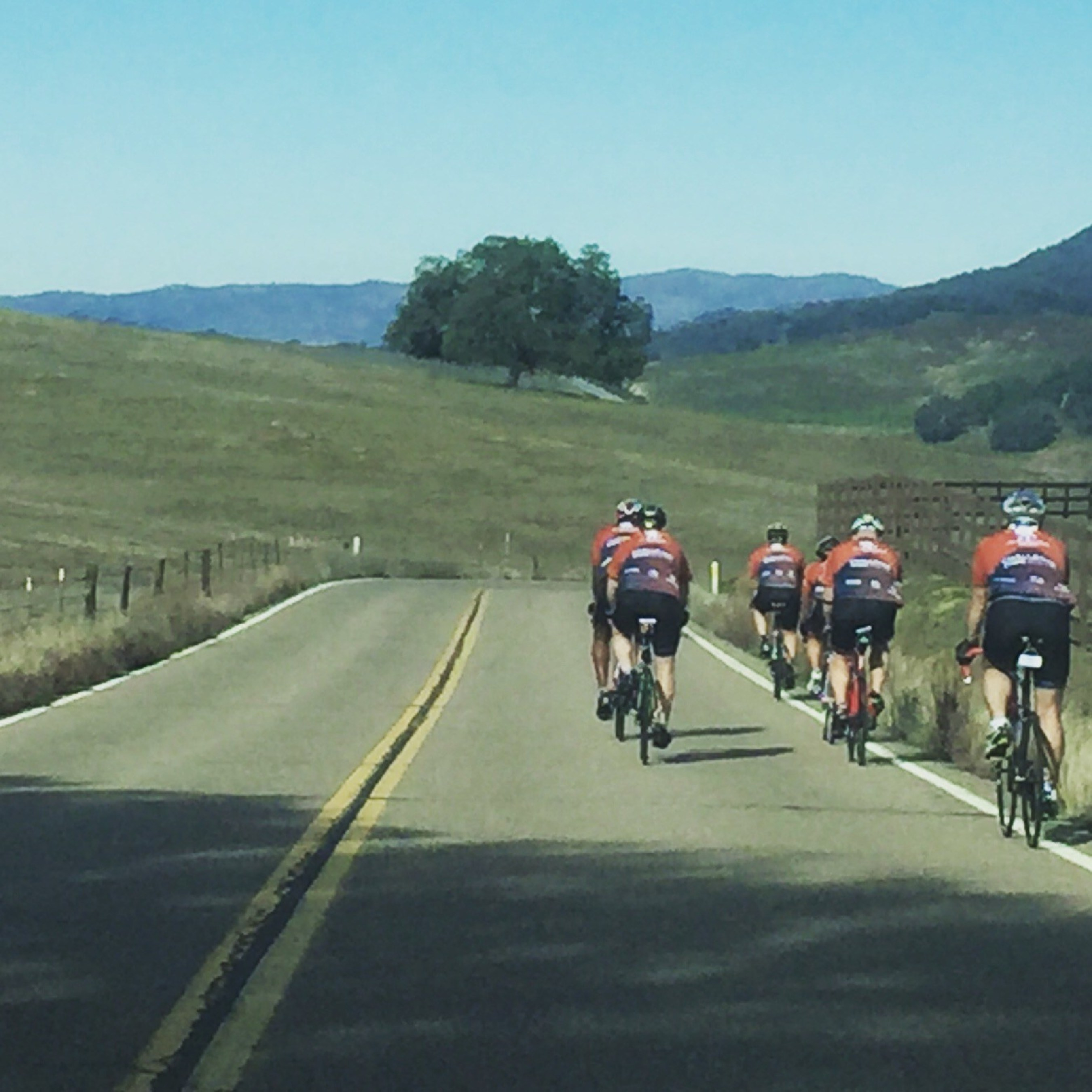 A group of injured service members ride 65 miles during cycling adventure.