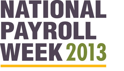 It's National Payroll Week.  Celebrate payroll professionals and learn how to stretch your paycheck at www.nationalpayrollweek.com.  (PRNewsFoto/American Payroll Association)