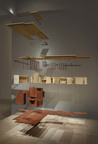 Exploded view model of Frank Lloyd Wright's first Usonian house, Jacobs House I,  in Madison, Wis.  (Collection Milwaukee Art Museum) Visitors can see the model at The SC Johnson Gallery: At Home with Frank Lloyd Wright, located at the SC Johnson campus in Racine, Wis., beginning Friday, May 3, 2013. Photo courtesy Mark Hertzberg.  (PRNewsFoto/SC Johnson)