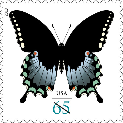 Spicebush Swallowtail Butterfly Stamps Take Flight Today