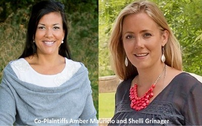 Co-Plaintiffs Amber Mauricio and Shelli Grinager are suing South Dakota over the constitutionality of Common Core and the Smarter Balanced Assessment Consortium. Both are represented by the Thomas More Law Center.