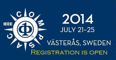 IEEE Computer Society's COMPSAC will be held in Vasteras, Sweden from July 21-25. Registration is now open. (PRNewsFoto/IEEE Computer Society)