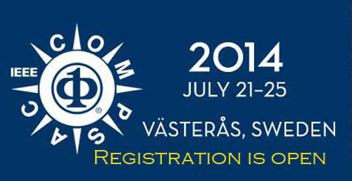 IEEE Computer Society's COMPSAC will be held in Vasteras, Sweden from July 21-25. Registration is now open.  ...