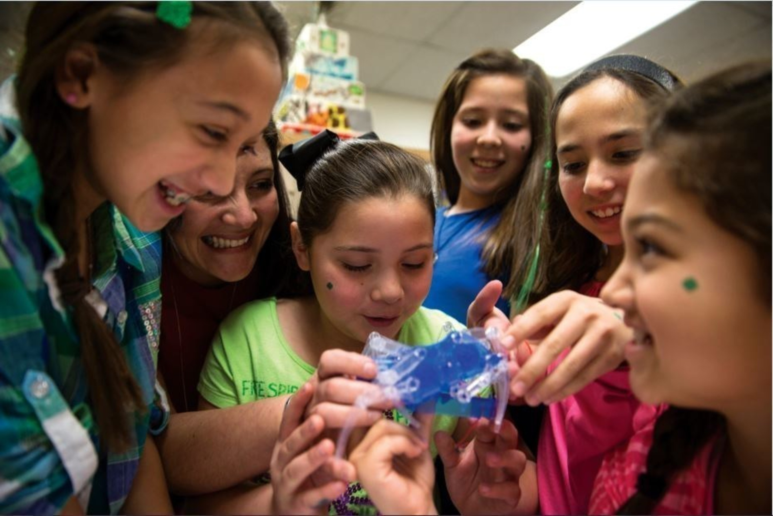 To learn more about Girl Scouts in STEM, visit girlscouts.org/STEM.