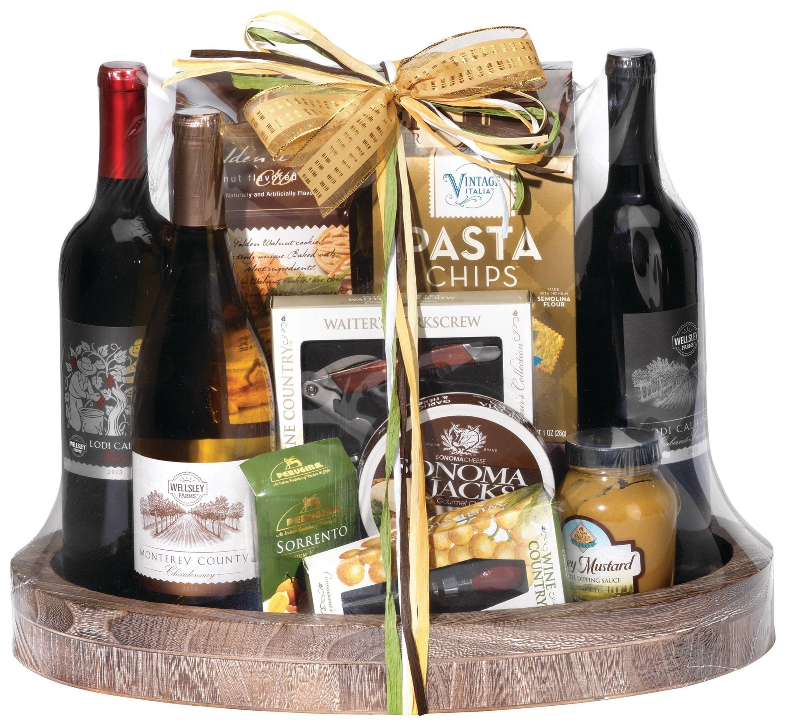 Wellsley Farms Wine Gift Basket