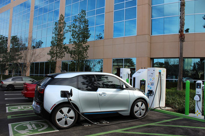 EVgo and BMW partner to bring ChargeNow DC Fast electric vehicle charging program to 25 cities nationwide. EVgo Network will have more than 600 50 kW DC Fast Combo chargers in next 2 years.  BMW i3 drivers get 2 years free charging with the purchase of their vehicle