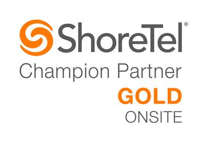 Call One Advances to Gold Level in ShoreTel Champion Partner Program