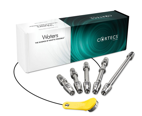 Waters Introduces CORTECS Columns Featuring Solid-Core Particle Technology