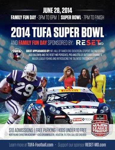 RESET-MD Sponsors 2014 TUFA Super Bowl In Houston, TX