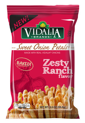 Inventure Foods, Inc. expands Vidalia Brands(TM) snack food portfolio with the introduction of Zesty Ranch Sweet Onion Petals