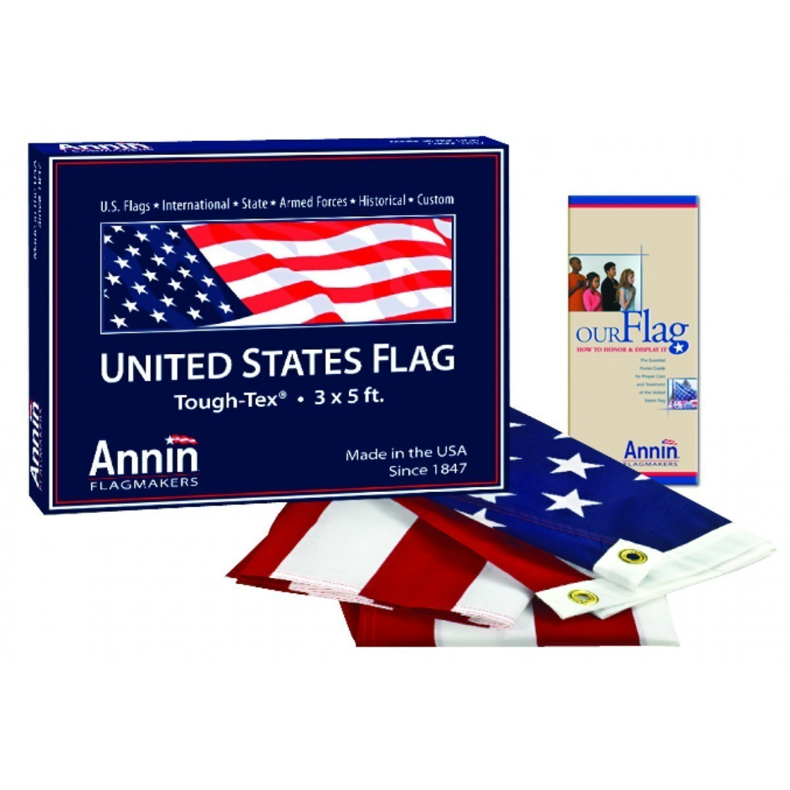 AmericanFlags.com sells only American-made US flags.