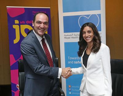 Merck KGaA, Darmstadt, Germany and the Royal Health Awareness Society Partner to Advance Women's Health in Jordan. Photo by Bennett Raglin/AP Images for Merck KGaA, Darmstadt, Germany (PRNewsFoto/Merck KGaA, Darmstadt, Germany)