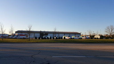 U-Haul adaptive reuse practices are in full swing with the acquisition and remodel of U-Haul Moving & Storage of Lincolnshire at 200 Industrial Drive.