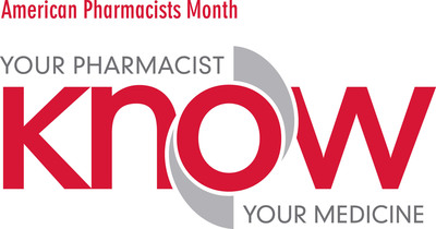 American Pharmacists Month. Know Your Pharmacist, Know Your Medicine. http://www.pharmacist.com/american-pharmacists-month.  (PRNewsFoto/American Pharmacists Association)