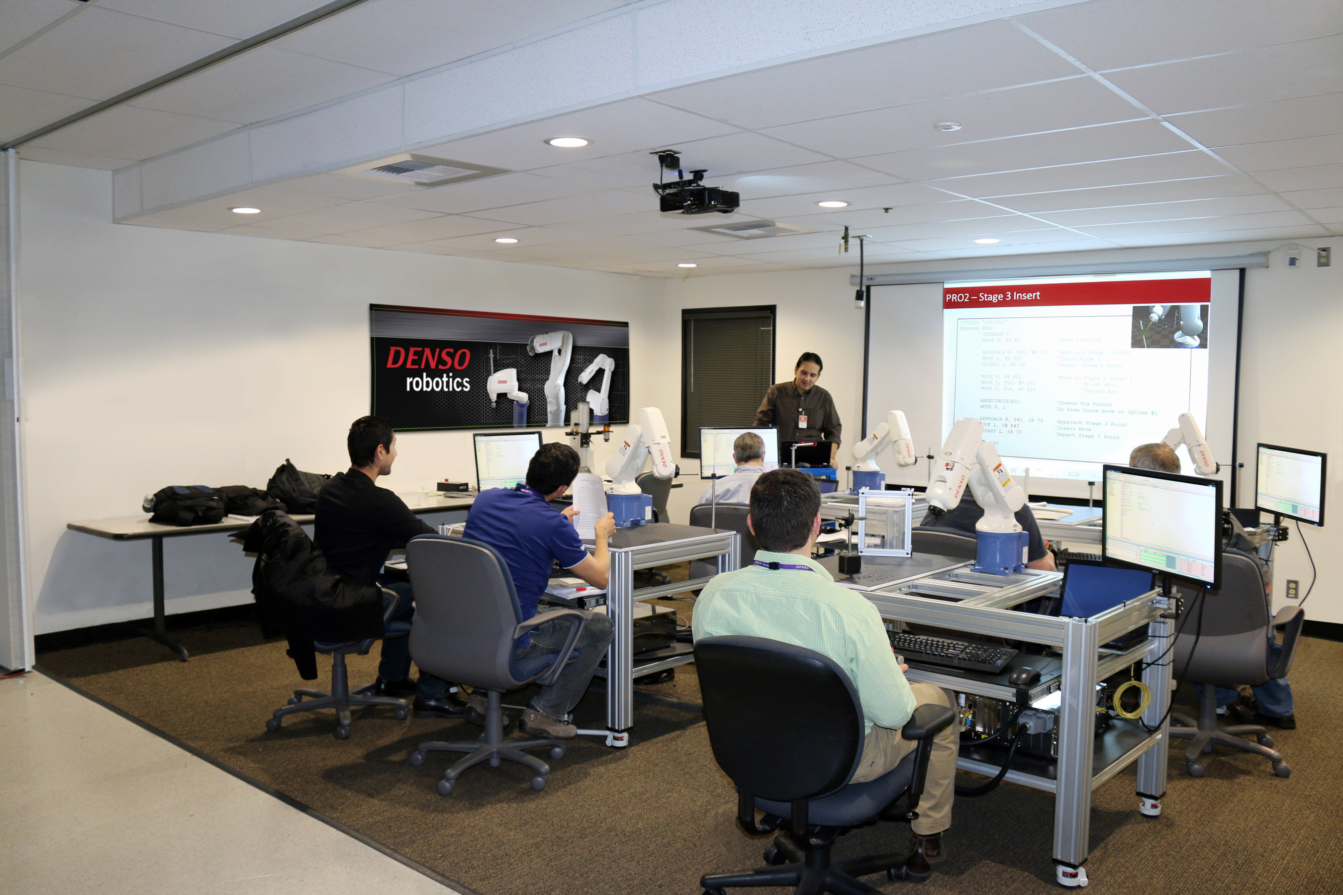 DENSO Robotics Opens New Training Center in U.S. Midwest