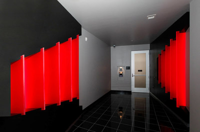 "The ""mantrap"" at Equinix's new Dallas data center, DA7, provides increased physical security."