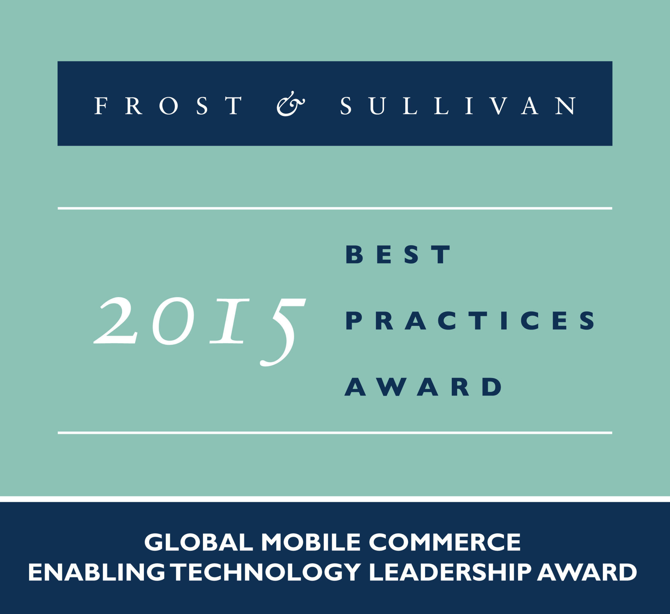 Frost & Sullivan Acknowledges Ericsson's Success in Creating a Single Global Standard for mCommerce