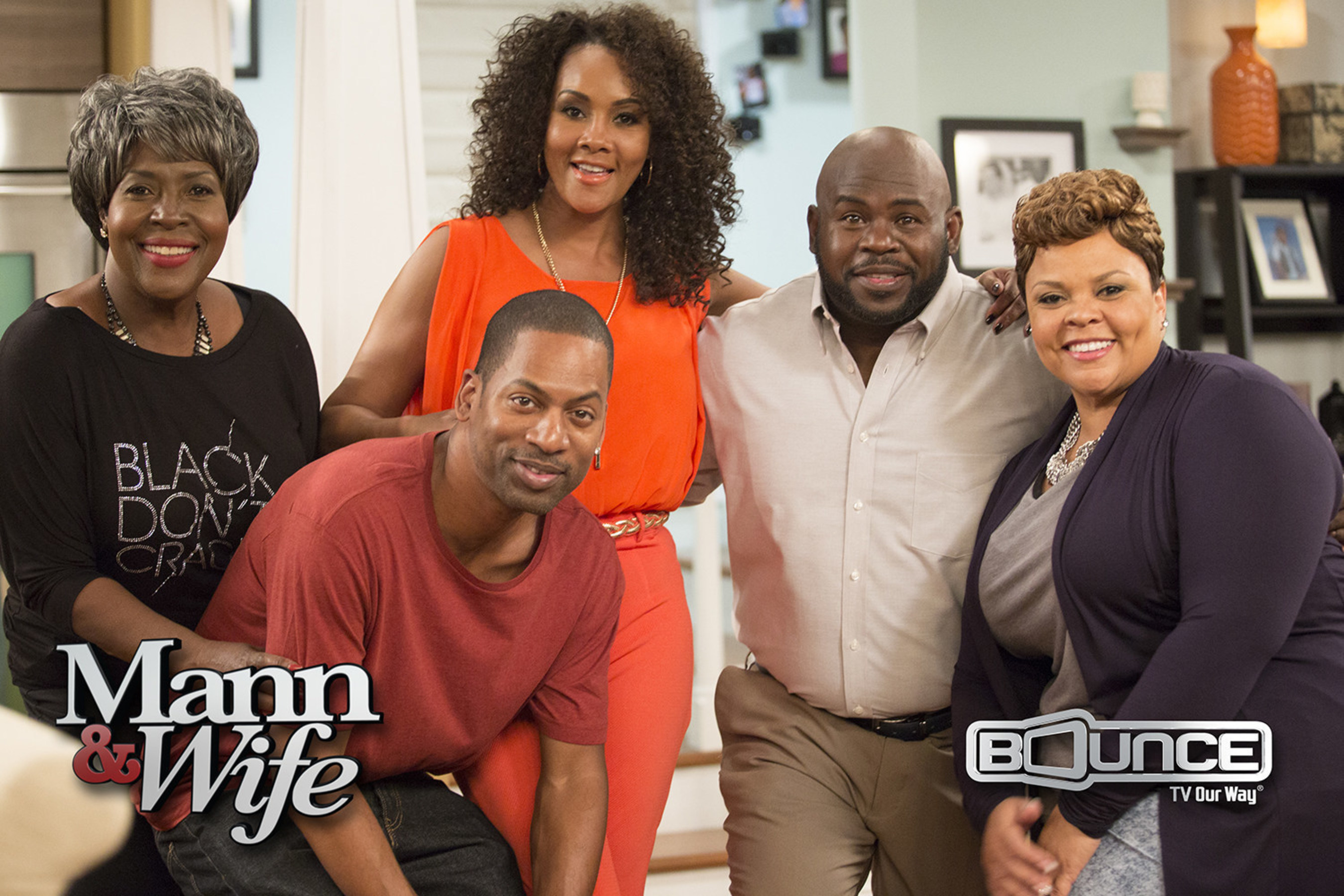 Mann & Wife is a HIT: Series Premiere of New Sitcom Starring David & Tamela Mann Becomes Most-Watched Original in Bounce TV's History