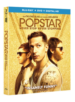 From Universal Pictures Home Entertainment: Popstar: Never Stop Never Stopping
