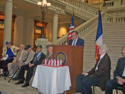 PruittHealth veterans honored for service.
