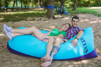 REPREVE and ENO launch inflatable lounger made from 16 recycled plastic bottles- the Billow Air Lounge