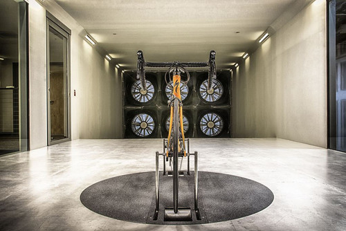 Specialized Bicycle-Specific Wind Tunnel.  (PRNewsFoto/Specialized)