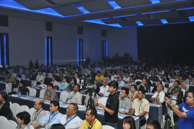 Full house Conference by Philippine Water Works Association (PWWA) at Water Philippines 2013. (PRNewsFoto/UBM Asia (Malaysia))