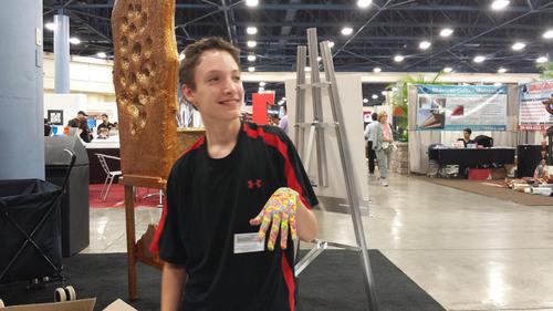 Jared's Paintings - Dystonia2.  (PRNewsFoto/zzPrint)