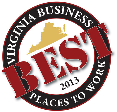 Health Diagnostic Laboratory, Inc. (HDL, Inc.), a CAP accredited leader in health management, was recently named as one of the 2013 Best Places to Work in Virginia.  (PRNewsFoto/Health Diagnostic Laboratory, Inc.)